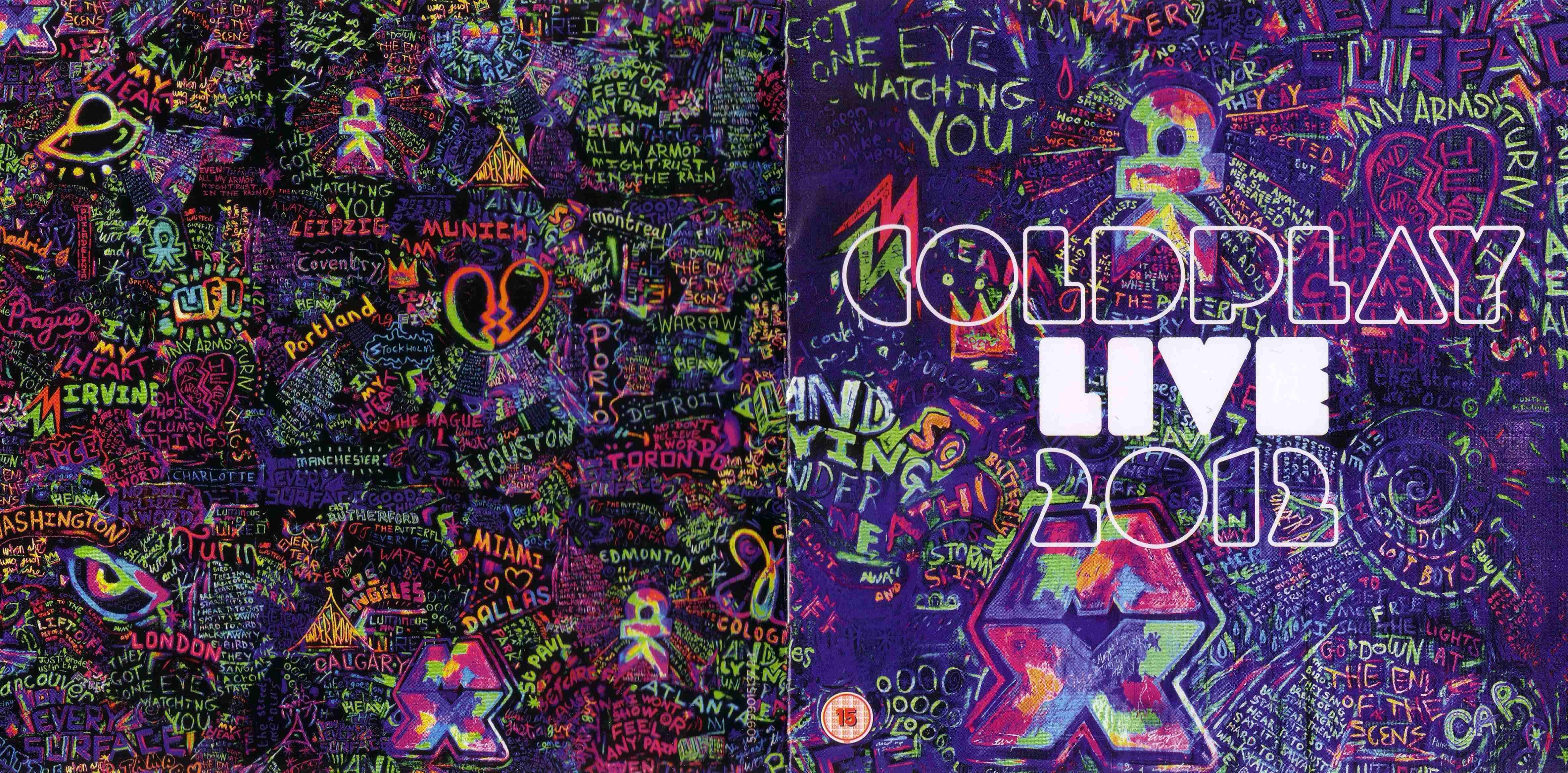 Download Coldplay - Live 2012 (2012)  mp3 -320 Kbps