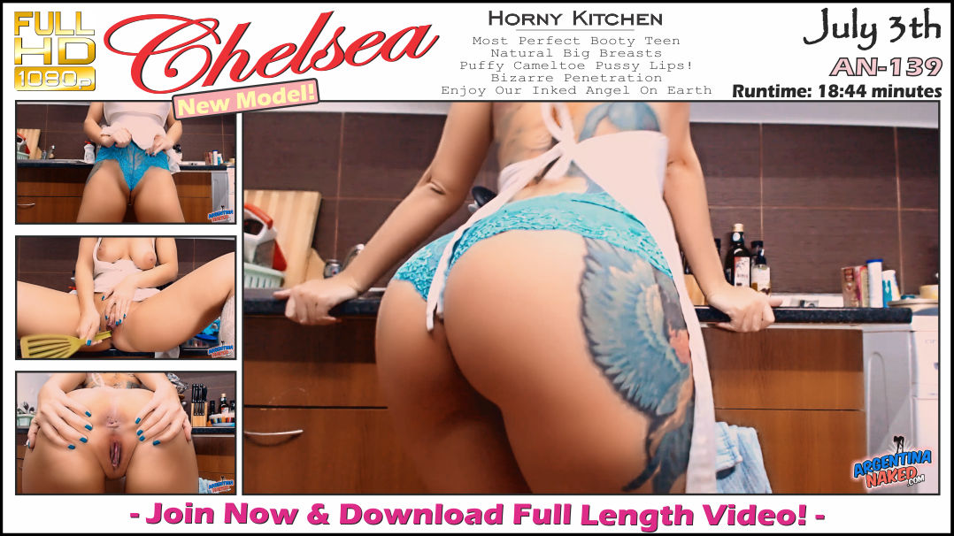 ArgentinaNaked - Horny Kitchen An-139