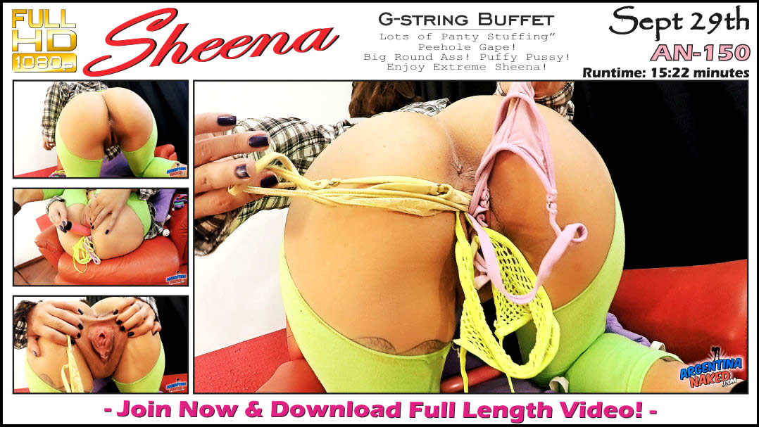 ArgentinaNaked - G-string Buffet An-150