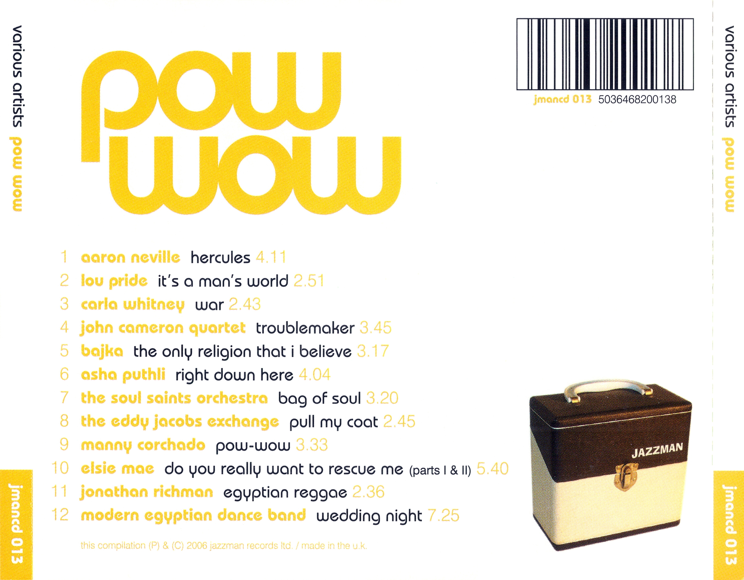 Download VA - Pow Wow-(JMANCD013)-CD-FLAC-2006-LEB | FREEMUSICDL