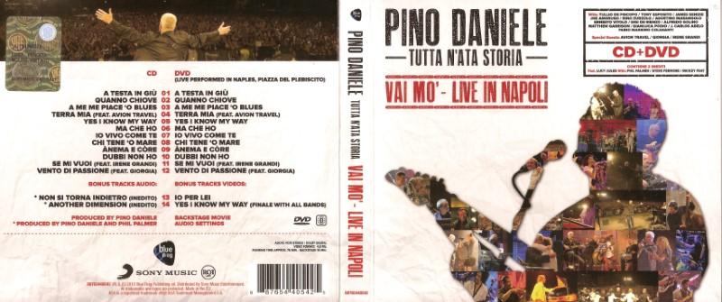 Pino Daniele - Tutta N'Ata Storia - Vai Mo' - Live In Napoli (2013) .mp3 -320 Kbps