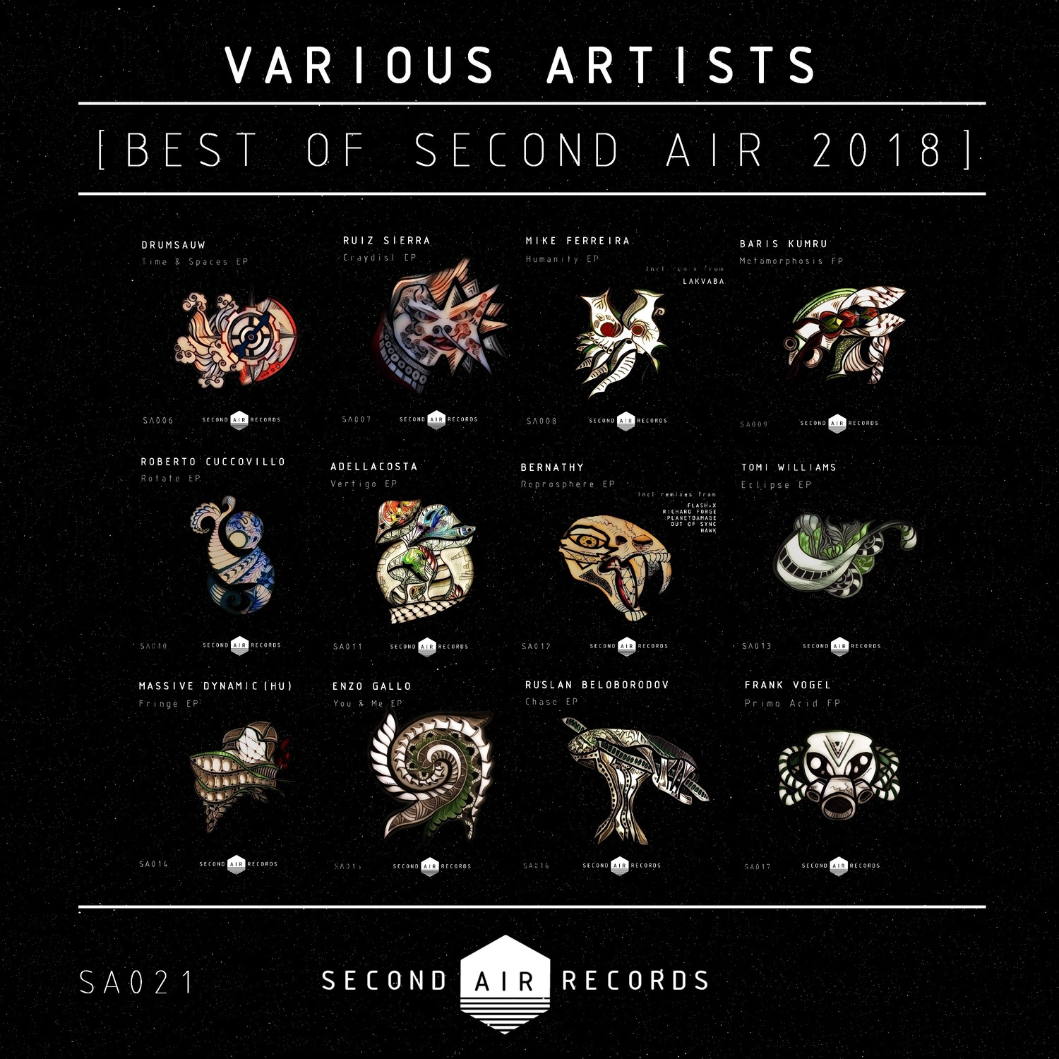 VA - Best Of Second Air 2018 (2019) .mp3 -320 Kbps