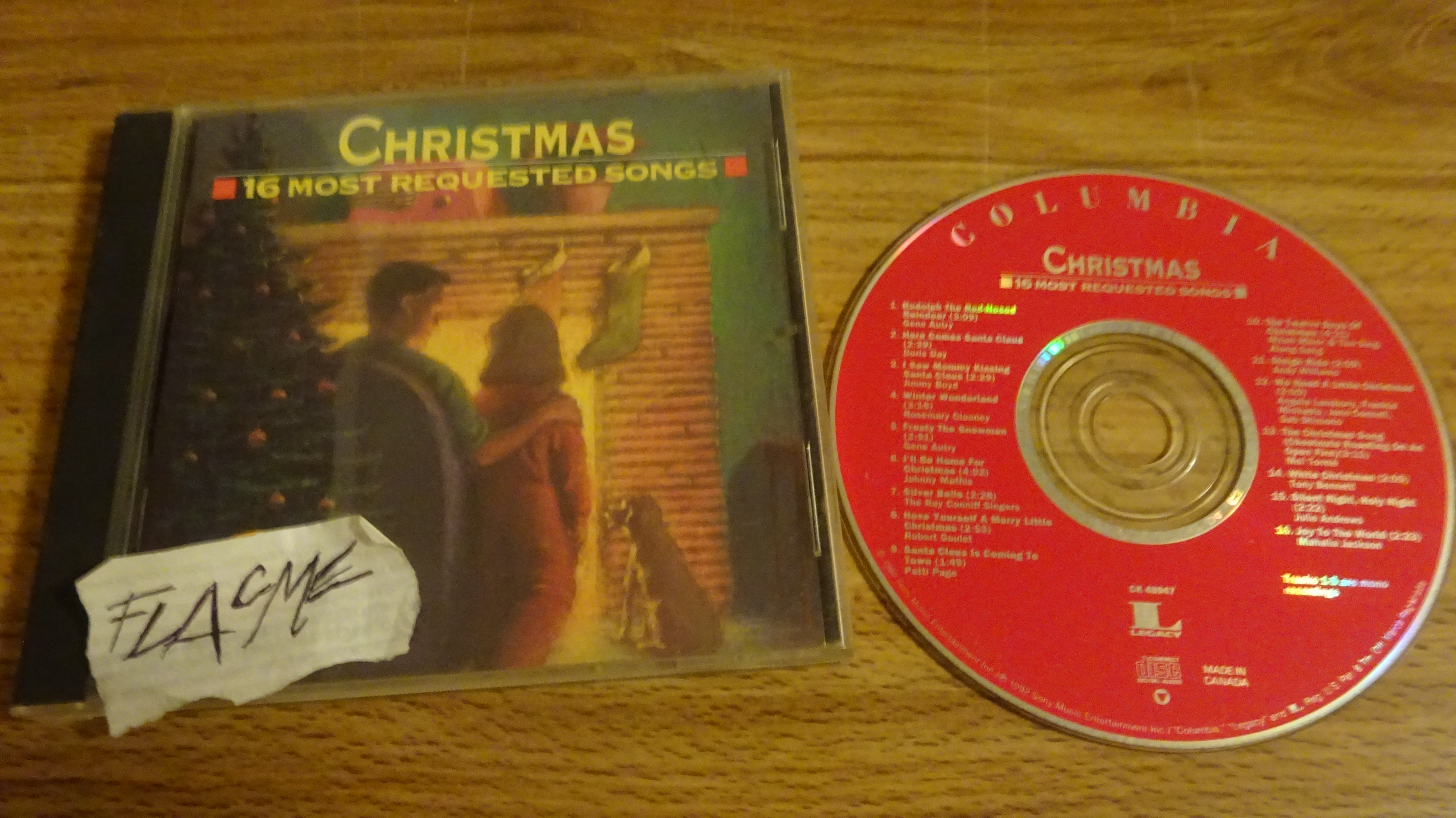 VA - Christmas 16 Most Requested Songs-CD-FLAC1992-FLACME
