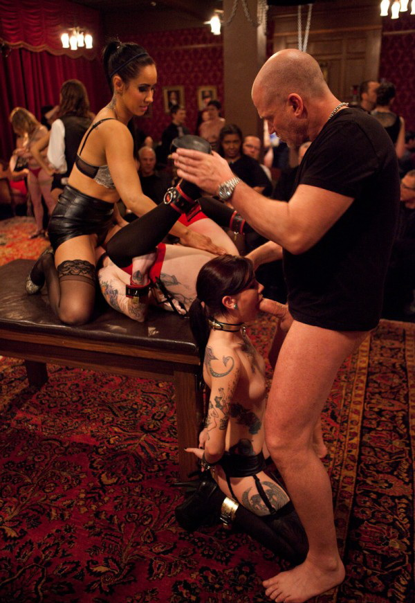 Spoiled slave is challenged by an eager trainee to a gambit of prowess, protocol, and sex. - Lily LaBeau, Krysta Kaos, Skin Diamond [Kink] (HD 720p)