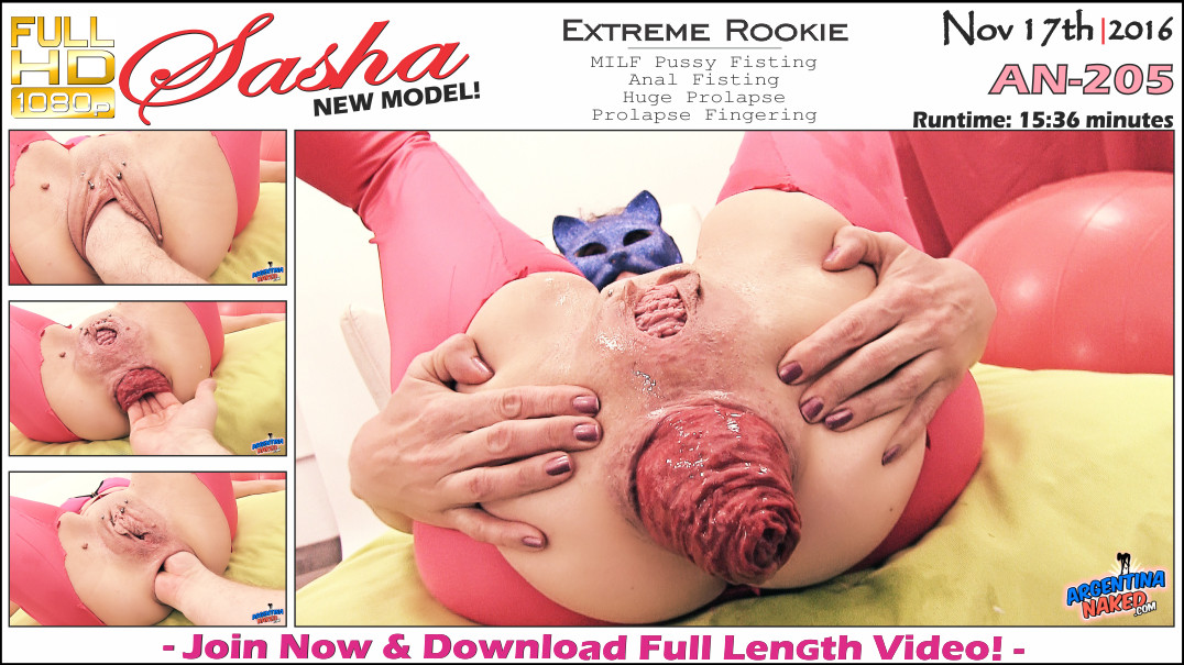 ArgentinaNaked - Extreme Rookie An-205 [Warning Very Big Anal Prolapse!]