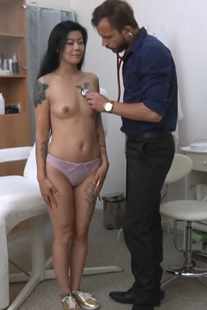 Akasha Coliun (21 years girl gyno exam)