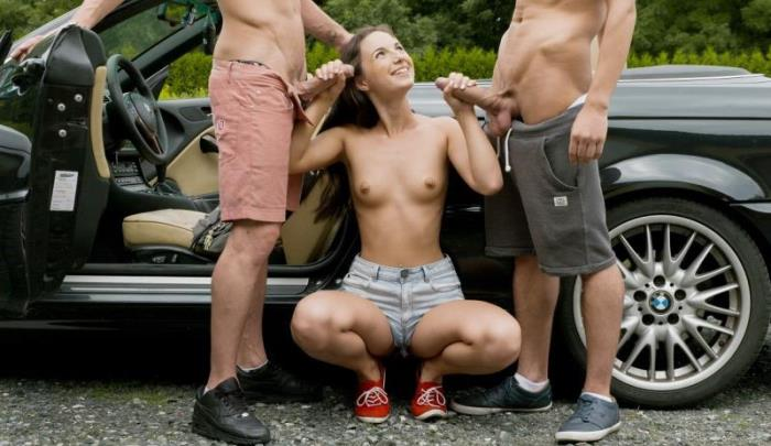 Blowjob from Kristy Black - The Hottest Hitchhiking [FullHD 1080p] UltraFilms - (1.46 Gb)