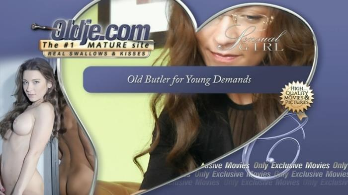 Sex Old and Young with Julie Skyhigh - Old Butler for Young Demands [HD 720p] Oldje - (1.02 Gb)