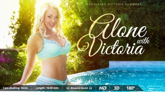Victoria Summers - Alone with Victoria [2K UHD 1600p] - VirtualRealPorn