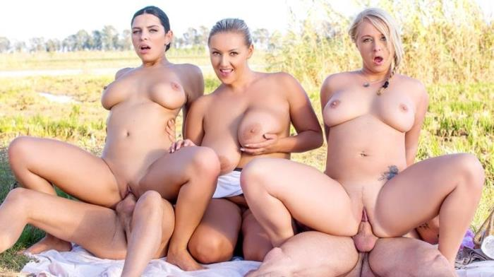 Crystal Swift,Bambi Bella,Kira Queen - Kira Queen, Bambi Bella and Crystal Swift, in country orgy (Orgy) - Private [HD 720p]