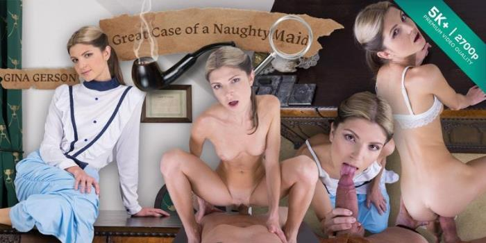 Gina Gerson - Great Case of a Naughty Maid [2K UHD/1440p/3.92 Gb] CzechVR