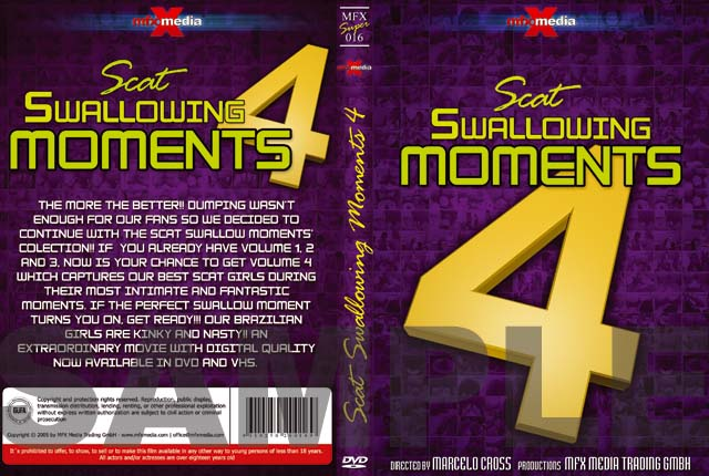 MFX-Media - Scat Swallowing Moments 4 (MFX-S016)