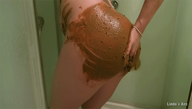 SexyAss - Big poop in a shower!