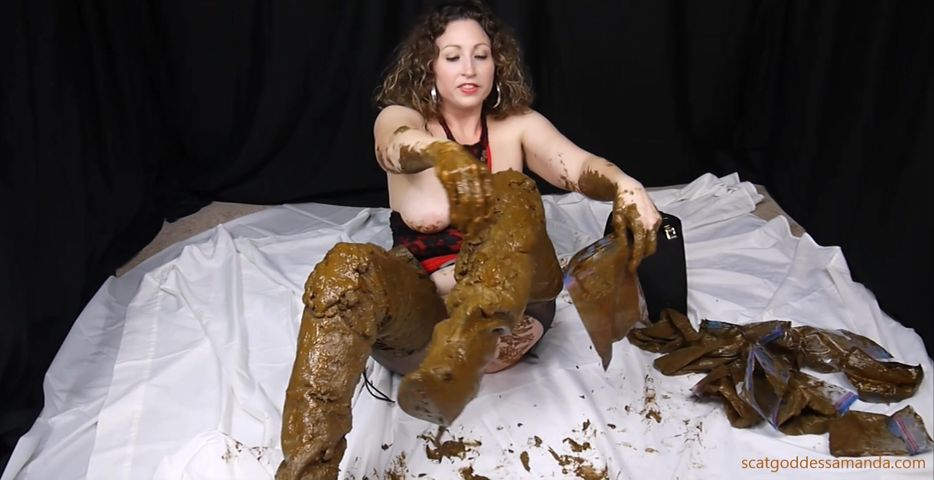 ScatGoddess - Scat Sexy Thigh High Leather Boots