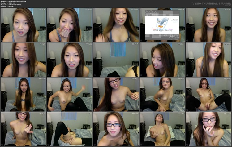 Asian webcam strip