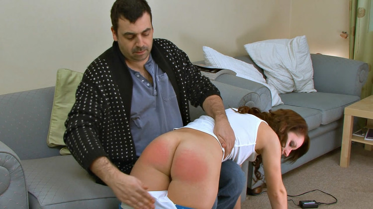 Hot Ass Spanking Time With My Cheating Bitchie Brunette Wife