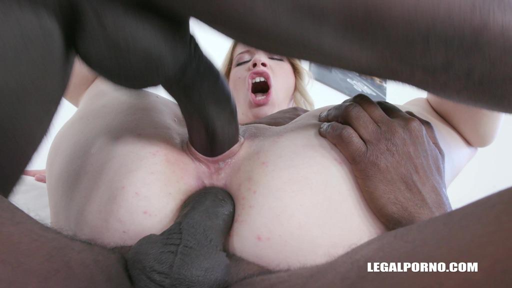 LegalPorno - Interracial Vision - Kiara Night enjoys black feeling balls deep IV331