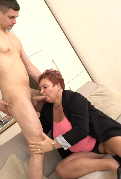 Lusty Grandma Fucked By Young Call Boy