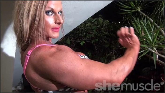 Biceps boob gun has muscle she #11