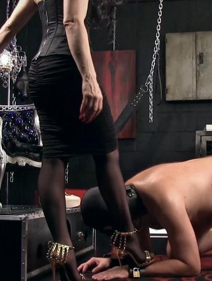 Shoe Buff Gets Punished