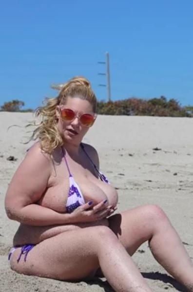 Tiffany Blake in Waves & Big Babe