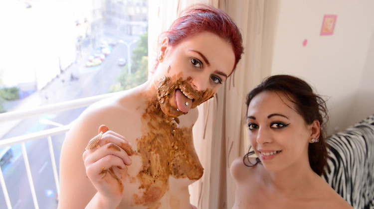 SG-Video - Scat Giant And Report - Big VS Small - By Roxana And Cashmere White