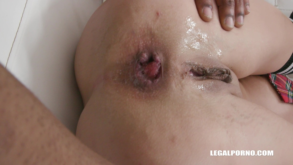 LegalPorno - Interracial Vision - First anal and first black cock for Freya Dee IV300