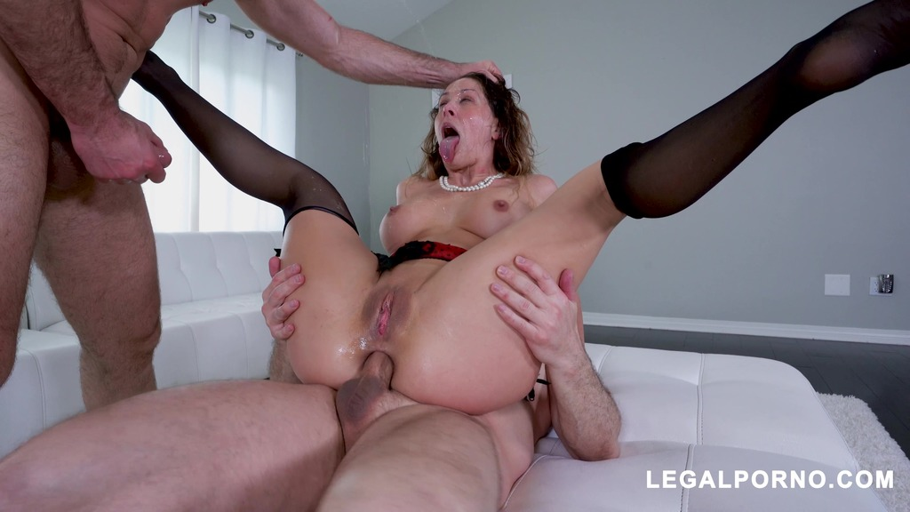 LegalPorno - Assablanca - Horny Cherie DeVille gets all her holes filled AB018