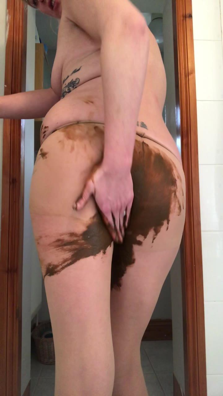 Jojo3767 - Tight poop and smear!