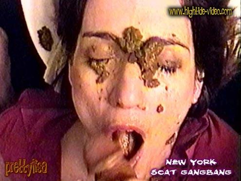 Hightide-Video - PRETTYLISA - NEW YORK SCAT GANGBANG