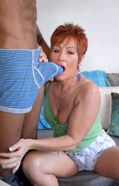 Ruby OConnors first big, black cock