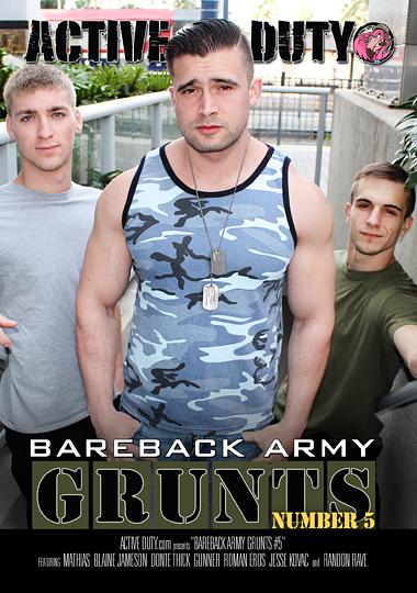 Bareback Army Grunts 5 (2019)