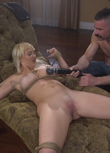 Charles teases her with the Hitachi