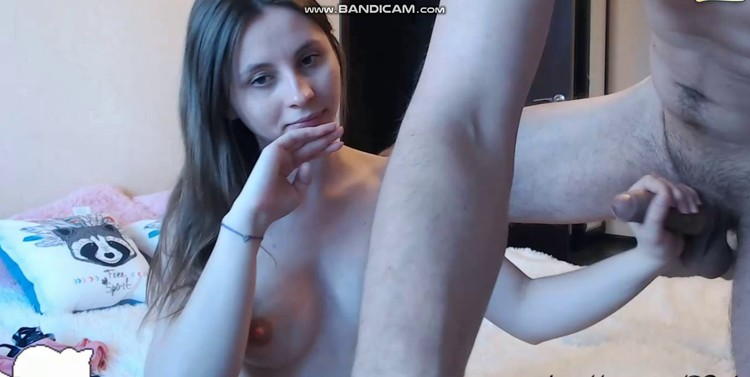 Daniela Handjob Private webCam- April 06, 2019