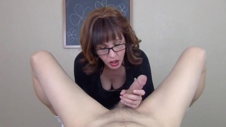 Horny teacher fluffs diaper boy