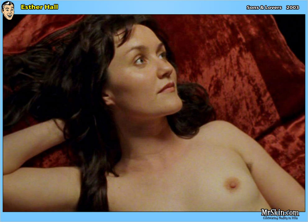 Esther Hall Breasts, Butt Scene In Sons Lovers
