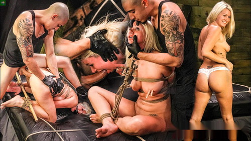 Layla Price Begs for Sybian, Rope Bondage, Rough Sex & Deept