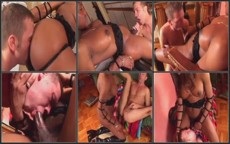 Shemale fu*k the guys rough in the ass (anal, update)