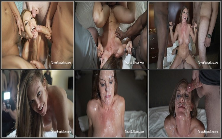 Cumshot at the faces of beautiful girls (Bukkake)