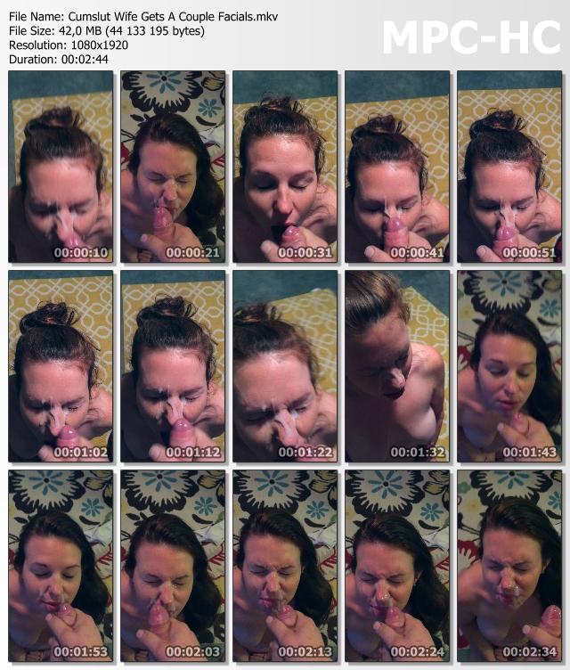 Tags: homemade, facials, wife, cumslut, milf. Categories Brunette, Cumshot,  Milf, Wife