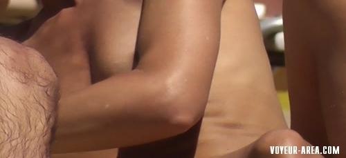 Topless beach Voyeur 111