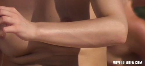 Topless beach Voyeur 126