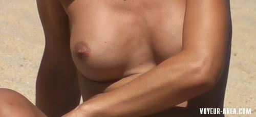 Topless beach Voyeur 368