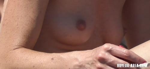 Topless beach Voyeur 238