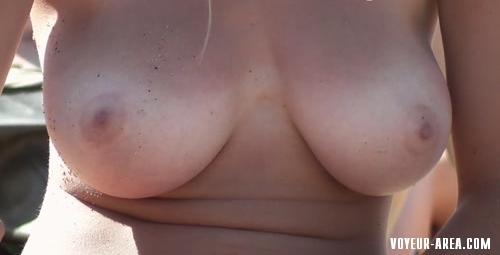 Topless beach Voyeur 506