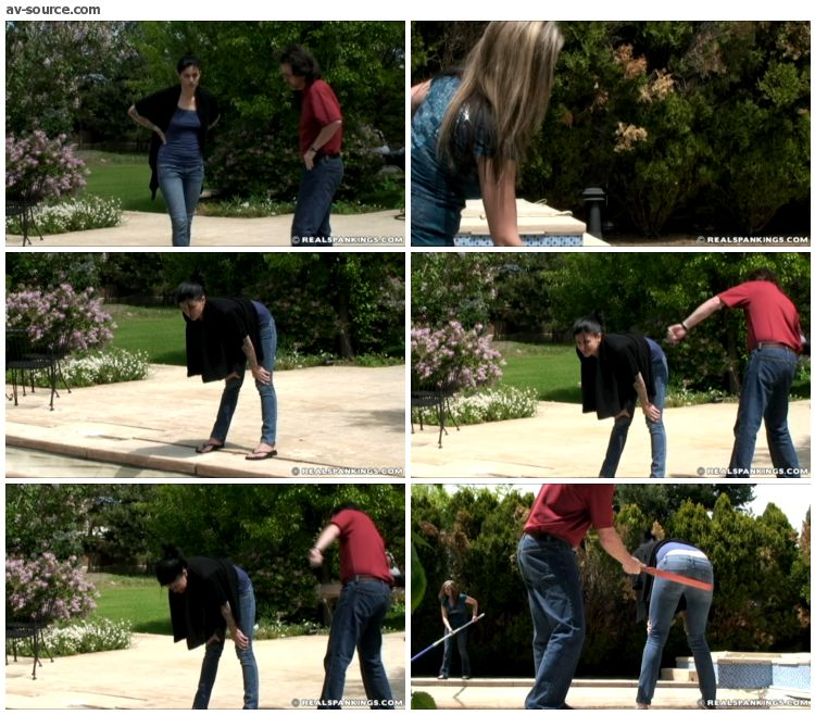 Jade - Riley and Jade Confronted about the Dirty Pool Part 1 of 2 - RealSpankings