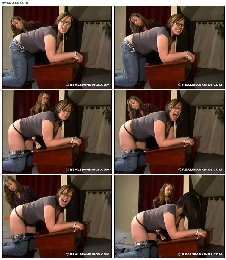 Isabel - Slacking Off In Class Earns Isabel A Spanking 2 - RealSpankings