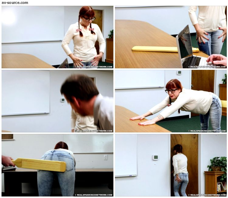 Isabella - Paddled instead of suspended - RealSpankings