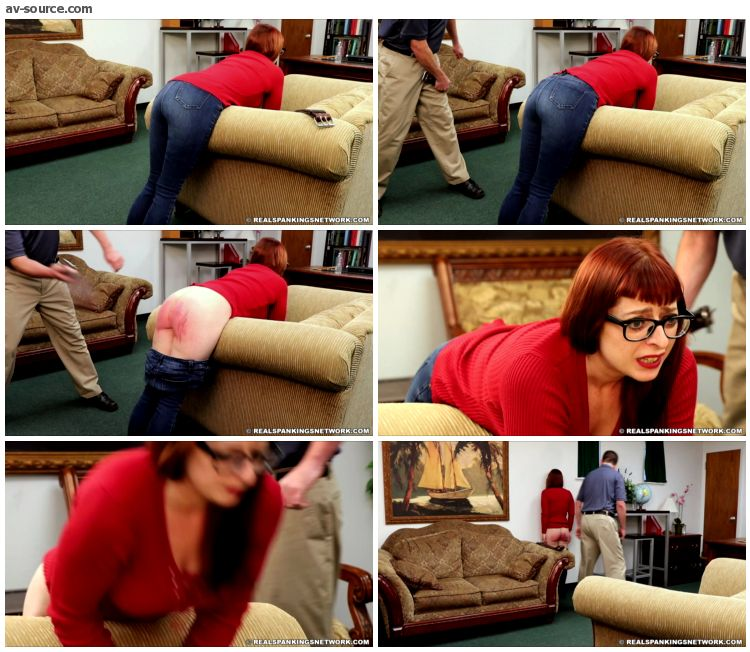 Isabella - Isabella Gets a Whoopin with the Belt - RealSpankings