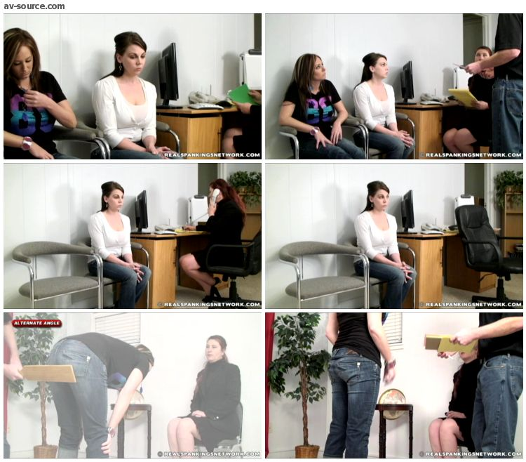 Riley - Paddled in Front of Witness Part 1 of 2 - RealSpankings